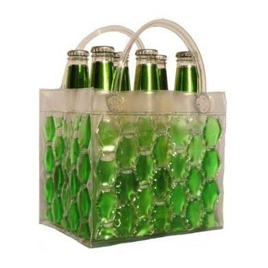 Chill-It Freezable 6-Pack Bag by Bella Vita - A freezable drink tote!
