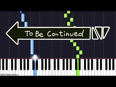 To Be Continued Piano Tutorial Roundabout Youtube Piano Tutorial Guitar Tutorial Piano