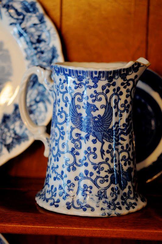 Chinese Peacock (aka Bluebird) a classic Victorian pattern.