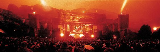 U2's concert Live At Red Rocks Under a Blood Red Sky. 1983 https://www.youtube.com/watch?v=-g-U-rRcny4
