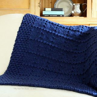 Knitting Pattern Crib Blanket : Small throws, Large throws and Crib blanket on Pinterest