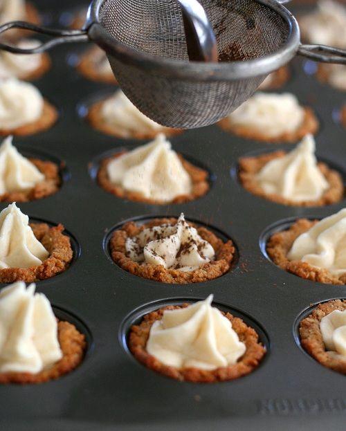Tiramisu Cookie Cups @Carolyn Rafaelian Rafaelian Rafaelian Rafaelian Ketchum #lowcarb #glutenfree