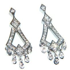 #Diamond #Earrings.