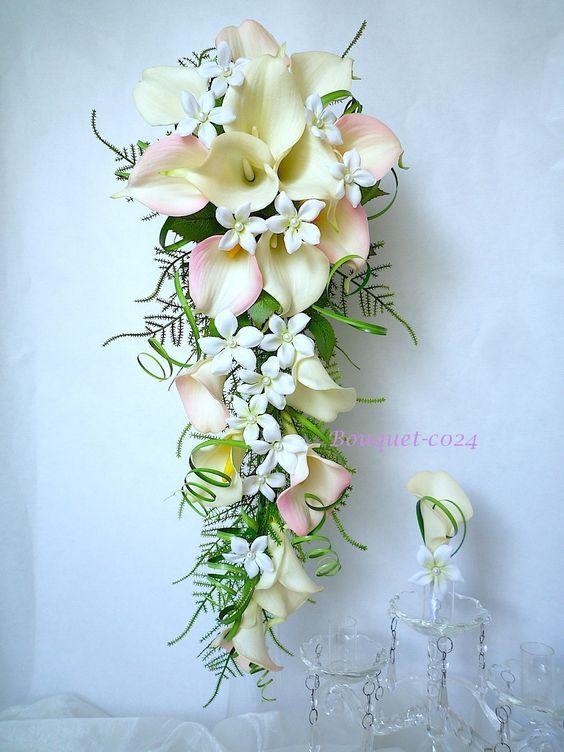 Peignes cheveux orchid e rose blanc pour mariage ou c r monie r f peigne007 boutonnieres - Bouquet mariee orchidee ...