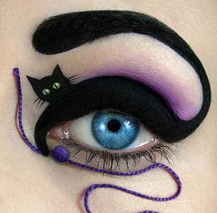 Katy Perry gave Tal Peleg a huge boost by tweeting this design. #eye #makeup