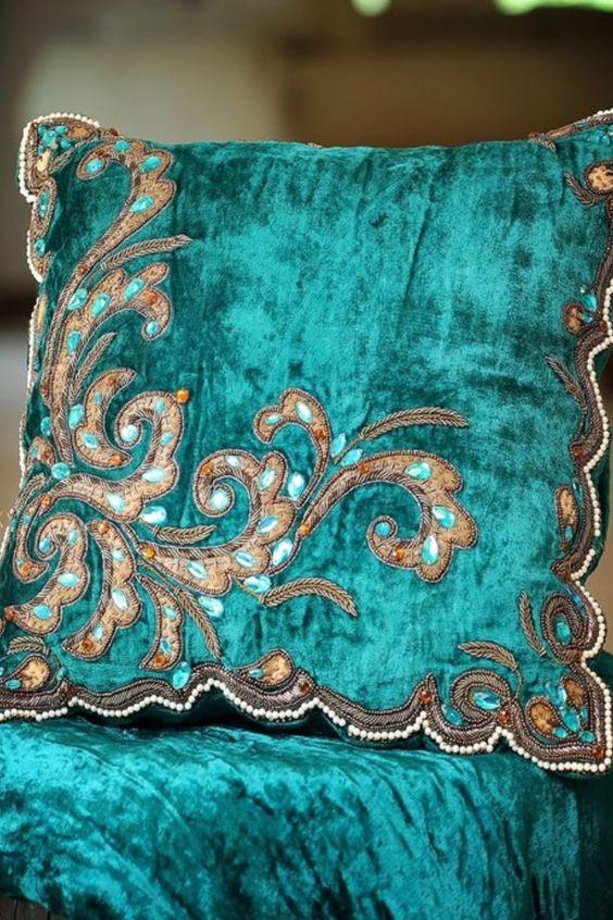 Turquoise crushed velvet #turquoise