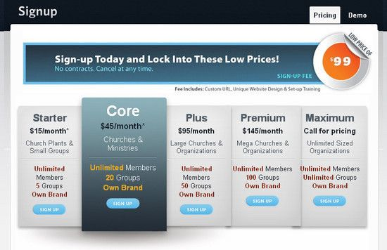 Wufoo Signup Pricing Table Price Tables Pinterest Pricing - the resumator