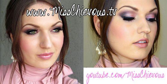 PRETTY PROM MAKEUP! Watch the tutorial video: http://www.youtube.com/watch?v=t2ndp17r8KU