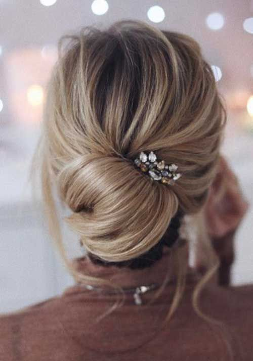 Best Hairstyle For Oval Face And Fine Hair Casual Wedding Hair