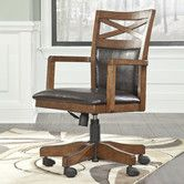 $234 Found it at Wayfair - Marlette Mid-Back Office Chair with Arms