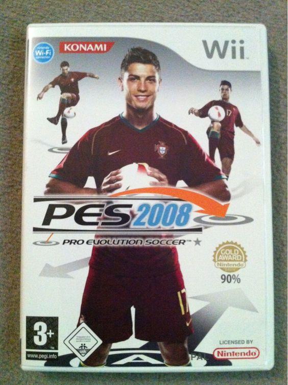 Wii Pro Evolution Soccer 2008  Wii-Spiel im Tipptopp-Zustand. Zuzüglich Versandkosten (bei Bedarf). Tausche auch gerne gegen andere Wii-Spiele. 10€