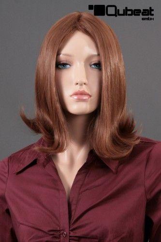 dieses Foto und Foto fünf und sechs sind alle Bilder von Frisuren, die basierend auf einem anderen Schnitt. In diesem Fall müssen wir ein schulterla... #Frisur #rot #seidig #Flip