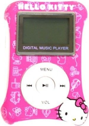 music hello kitty mp3 player