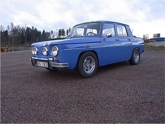 Renault 8 Gordini 1300 de 1968