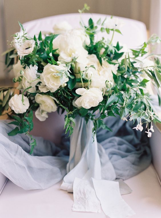 Dusty Blue Wedding Bouquets : Dusty blue wedding bouquets and san francisco on