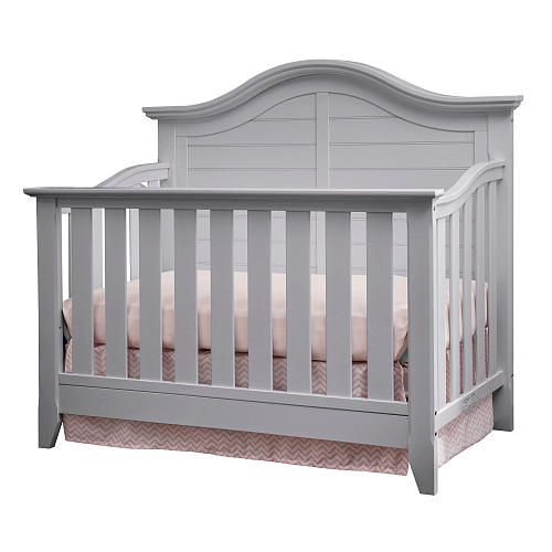 Thomasville Kids Southern Dunes Lifestyle 4-in-1 Convertible Crib - Pebble Gray…