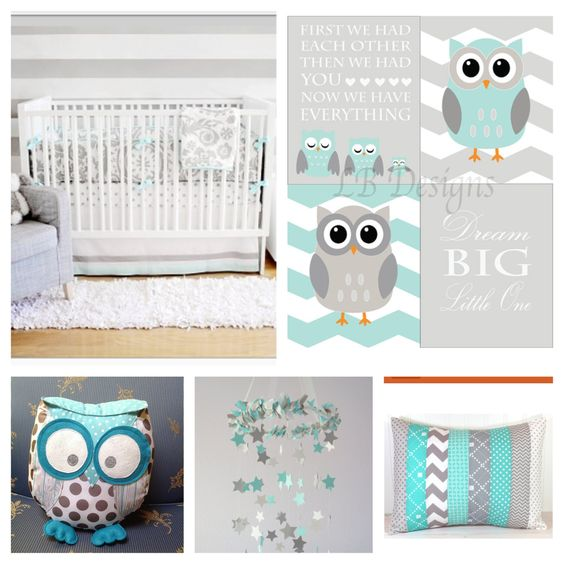 Owl Themed Gender Neutral Nursery