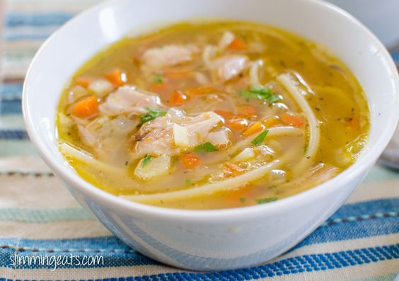Chicken noodle soup free food