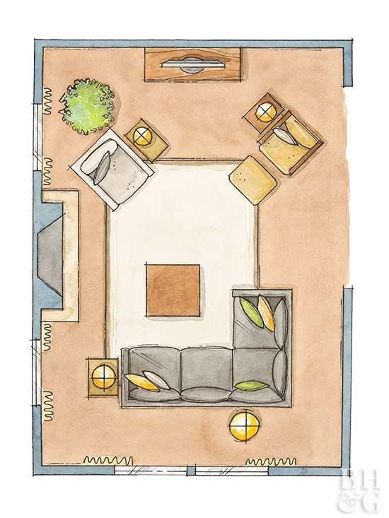 5 No-Fail Living Room Furniture Arrangements | Living Room Furniture Arrangement, Living Room Floor Plans, Living Room Furniture Layout
