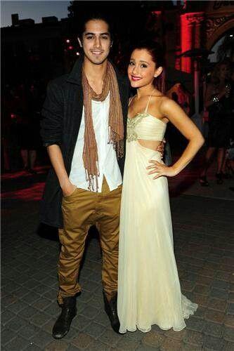 Avan Jogia And Ariana Grande