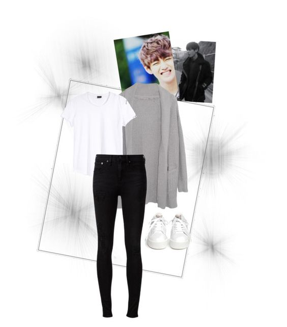 """""""V War of Hormones (Real War Ver.)"""" by leemijoo ❤ liked on Polyvore featuring Margaret O'Leary, rag & bone, Ash, women's clothing, women, female, woman, misses, juniors and bts"""