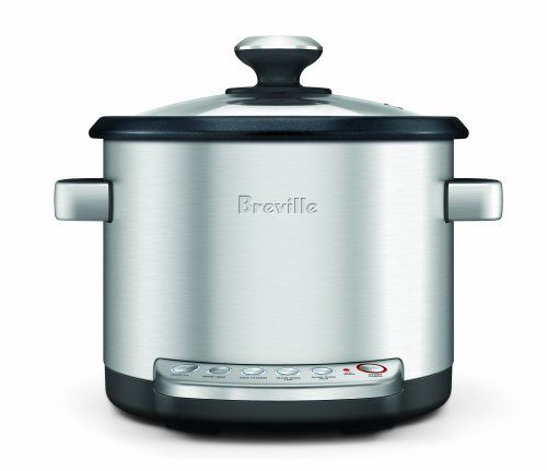 Quick and Easy Gift Ideas from the USA  Breville BRC600XL The Risotto Plus Sauteing Slow Rice Cooker and Steamer http://welikedthis.com/breville-brc600xl-the-risotto-plus-sauteing-slow-rice-cooker-and-steamer #gifts #giftideas #welikedthisusa