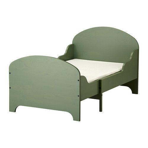 Toddler bed that can lengthen hmm trogen ext bed frame for Bed base ikea