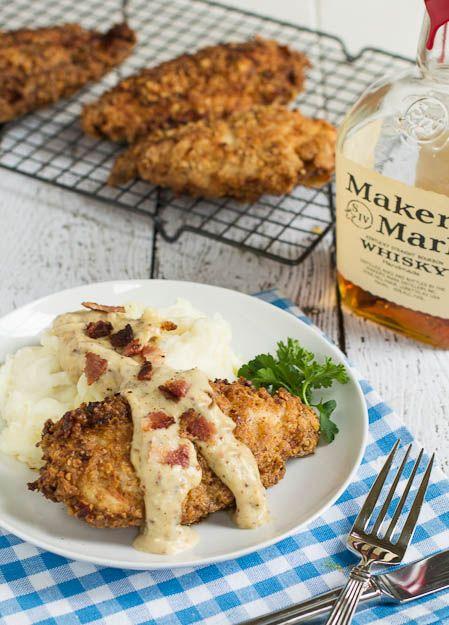 ... Bourbon Maple Cream Gravy | Recipe | Pecan Chicken, Bourbon and Pecans