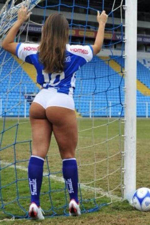 Sporty ecuadorian soccer babe stripping