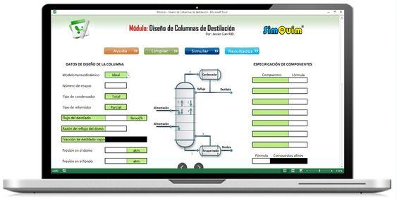 SimQuim. Simulador didáctico para diseño de equipos de Ingeniería Química - Ingeniería Química