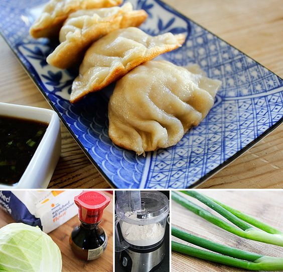 Homemade Potstickers with a homemade dough. finally a potstickers recipe that i can make GF!!