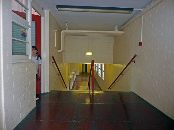 common hallway and stairs