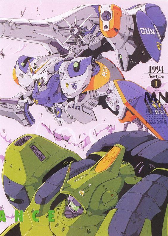 Mamoru Nagano Gundam