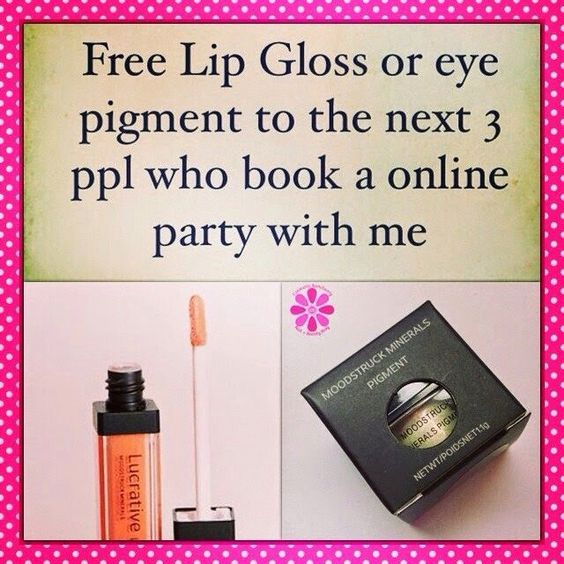 FREE products?!?! Who doesn't love FREE stuff right? Get with me. Earn them. Invite your friends. Let's party!!