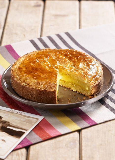 Gâteau Basque crème pâtissière (with french pastry cream) // region : Aquitaine (Basque country / Pays basque)