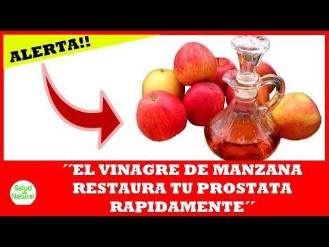 como tomar el vinagre de manzana para desinflamar la prostata