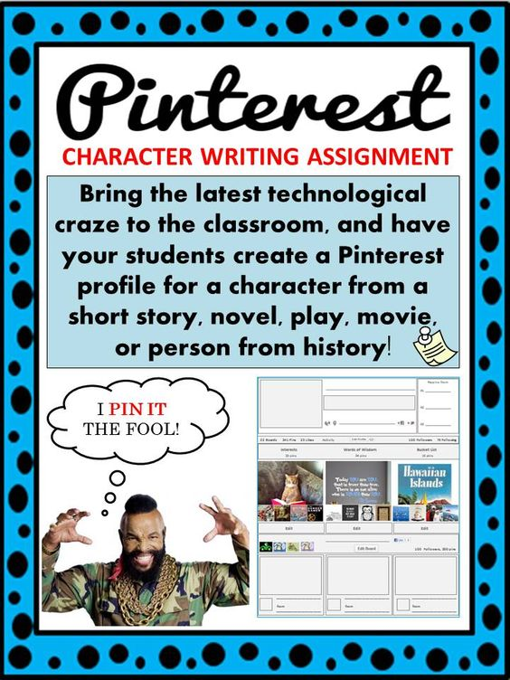Design Your Character And Play : Pinterest character profile short story novel play or