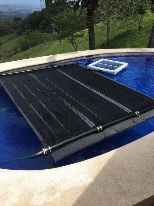 Savior Floating Solar Thermal Water Heater Kit Made In The Usa Solar Thermal Water Heater Solar Panels Solar Thermal