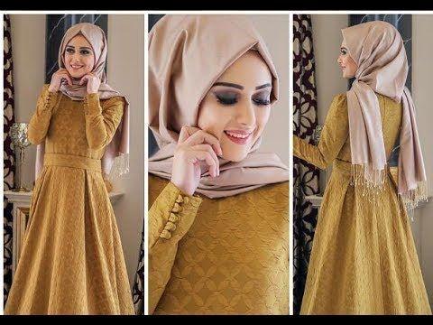 ازياء تركية 2017 فساتين جلبابات عبايات ج12 Youtube Fashion Hijab Fashion Style