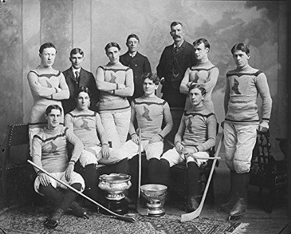 POSTER Shamrock hockey team Montreal QC 1899 Quebec Canada Wall Art Print A3 replica