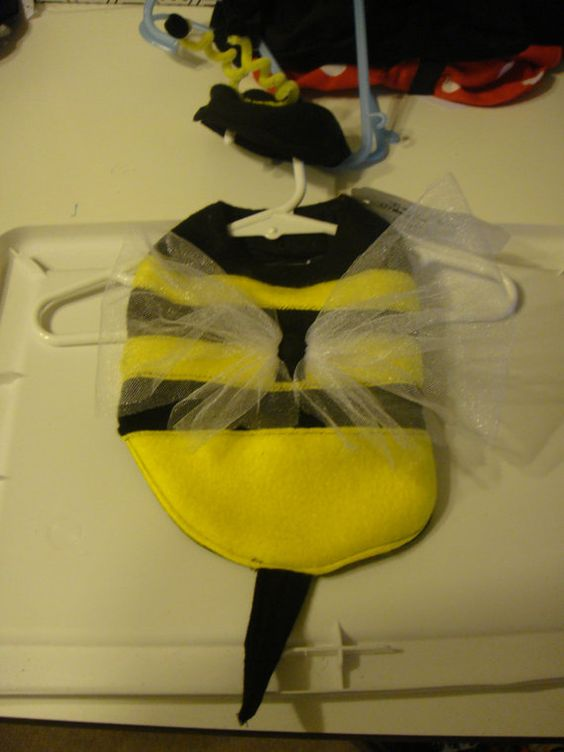Bee Dog Costume available in sizes xsmall by DogDesignsbyDiana, $18.00