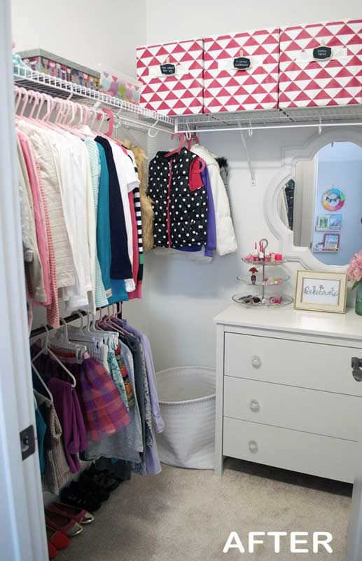 65 Genius Closet Organizing Ideas Kids Closet Organization Closet Organization Organization Bedroom