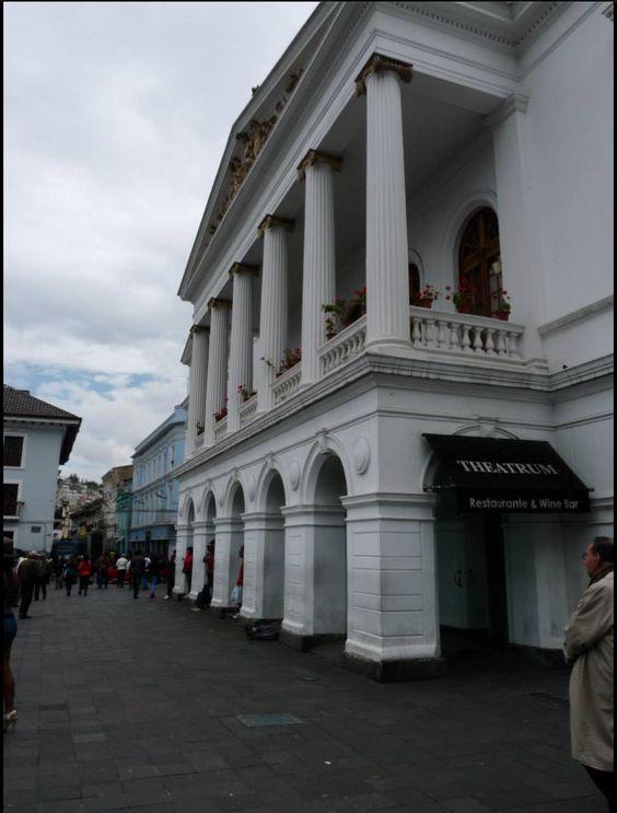 El Teatro Sucre en Quito
