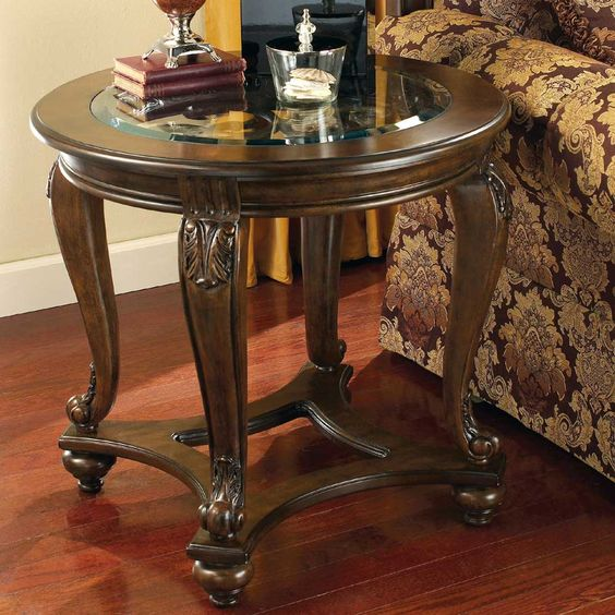 Norcastle Round End Table By Signature Design By Ashley