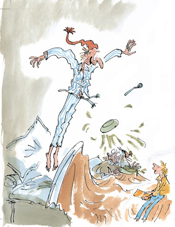 Quentin blake, Chocolate factory and Factories on Pinterest
