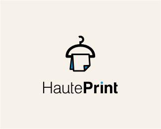 Inspiração de #logos com #cabides . #Logodesign