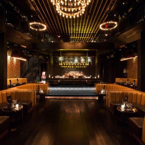 1oak La Nightclub Design Luxury Bar Design Vip