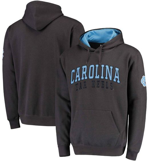 North Carolina Tar Heels Colosseum Double Arches Pullover Hoodie - Charcoal - $27.99