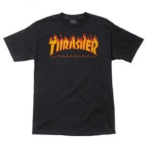 Thrasher Magazine <br> Thrasher Flame Logo T-Shirt
