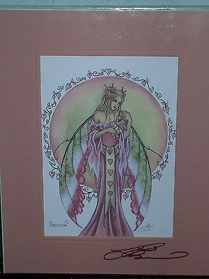 Amy Brown - Perfection- Matted Mini Print - SIGNED